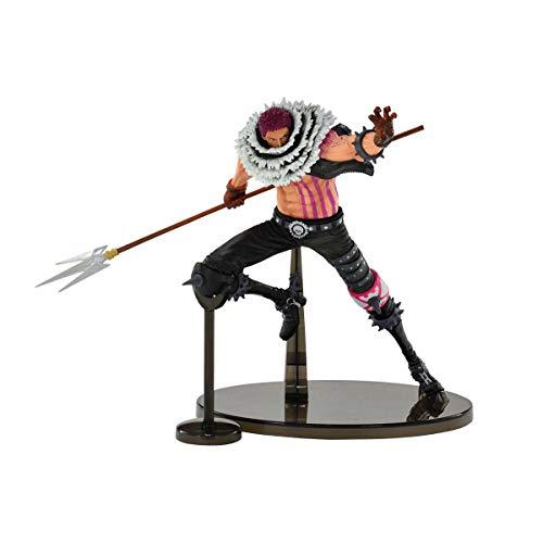 Figure Bandai Banpresto One Piece - Banpresto World Colosseum2 Vol5 Charlotte Katakuri Ref.34932/34933 Multicor