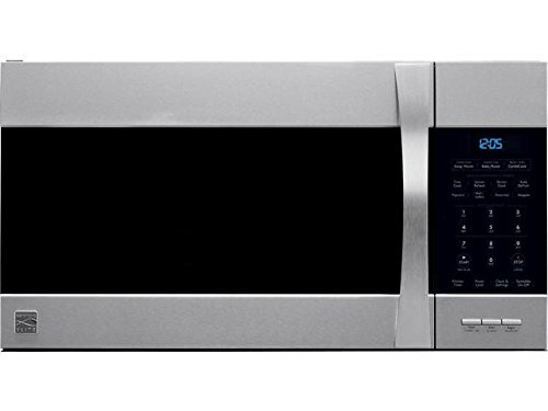 Kenmore Elite Over the Range Microwave Hood Combination Convection Oven 1.5 Cu. Ft. 900 Watts Stainless Steel 80363