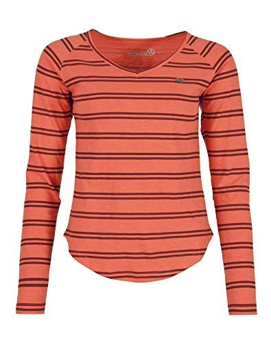 Ternua Camiseta Kandy LS T-Shirt W Mujer, Dubarry, M