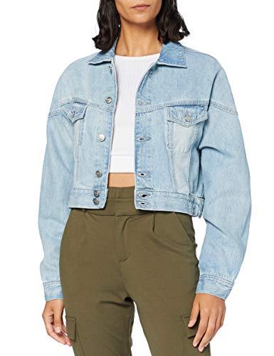 Pepe Jeans Volt Flow Giacca di Jeans, 000denim, Medium Donna