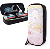 Cartoon Desserts Clipart Lollipop Pencil Case for Boys and Girls Large Pencil Pouch Holder Pen Case for Student College School Supplies & Office