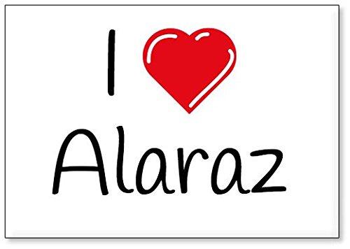 Mundus Souvenirs - Amo Alaraz, Imán para Nevera (diseño 1)