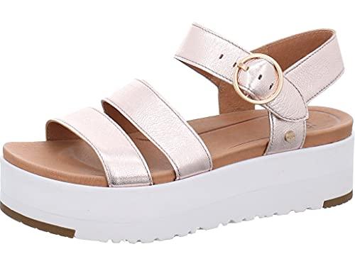 UGG Leedah 1119810 RGMT Chaussures pour femme - Rouge - rose, 42 EU
