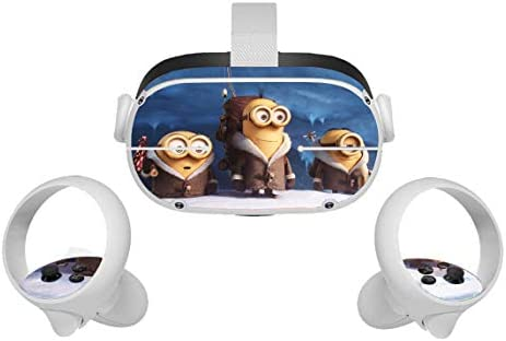 Oculus Quest Accessories Skins Funny Movie VR Headset and Controller Decal Sticker Protective product image