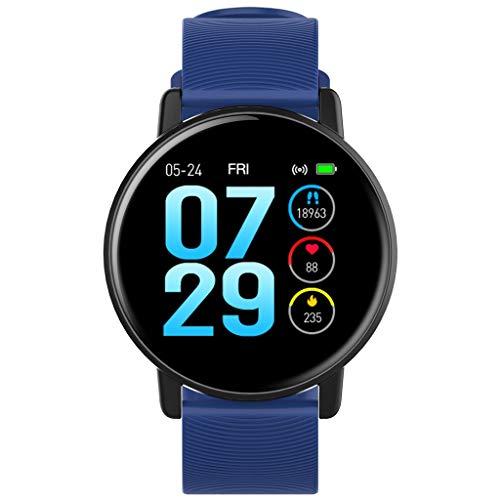 Relojes de pulsera SmartWatch Deportivo, Rastreador de Actividad Física Impermeable HD de 1.3 '' con Notificación de Llamada de Mensaje, Pulsera Inteligente Bluetooth para Teléfonos Android IOS watche