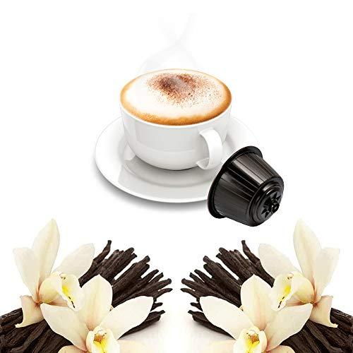 32 Capsulas Cappuccino Sabor Vainilla Compatibles Nescafè Dolce Gusto - Café Kickkick