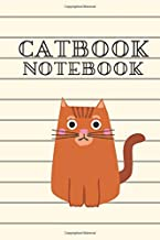 Notebook/Catbook: Line Ruled For Elementary School, Cat Cover 9 x 6: , 90 Lined Pages (School Notebooks)