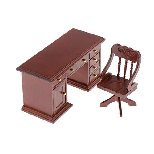 Colcolo Juego de Imitación 1/12 Muebles de Muñecas de Madera Juego de Simulación de Niña