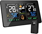 Best Home Weather Stations - MOHOO Weather Stations with Outdoor Sensor Wireless UK Review