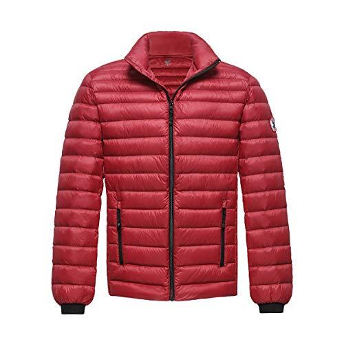 Rokka&Rolla Men's Ultra Lightweight Packable Puffer Down Jacket