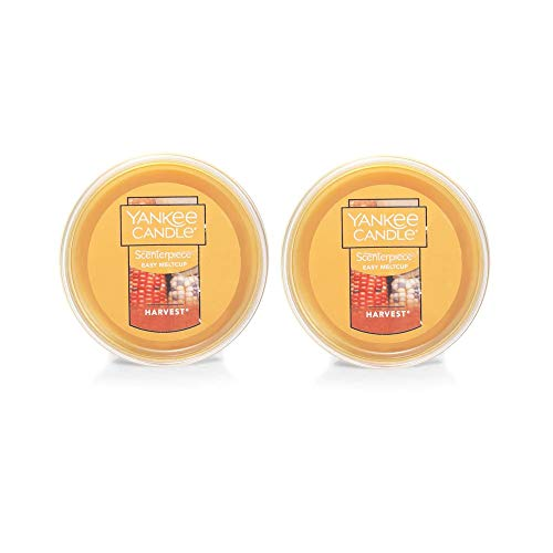 Yankee Candle Scenterpiece Easy Meltcup, Harvest, 2 Pack