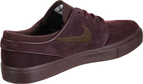Nike Zoom Stefan Janoski CNVS - Zapatillas de Skate, para Hombre, (Burgundy Crush Burgundy), 41.5 EU