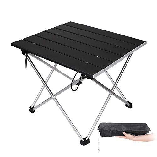 Tragbarer Camping Klapptisch Einfache Montage Gartentisch Gartenmöbel Camping Wandern Angeln BBQ Picknicktisch mit Beutel Lili