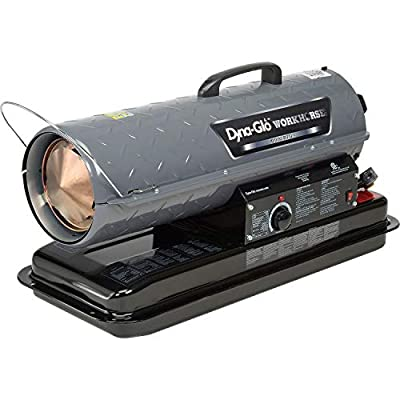 Dyna-Glo Workhorse KFA80WH, 80K BTU Kerosene Forced Air Heater