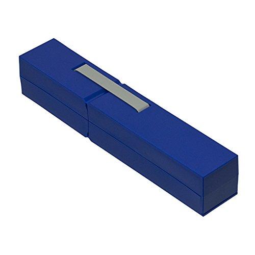 ナカバヤシ ディスプレイペンケース S 筆箱 ダークブルー PCN-DP01DB