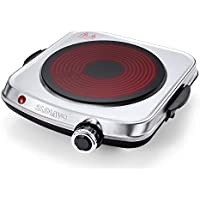 Sunavo Electric 6 Power Levels Infrared Burner