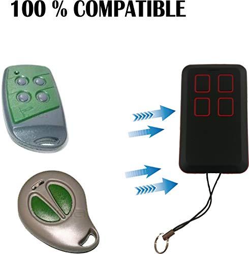 Mando de Garage 100% Compatible Forsa 433 MHz