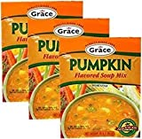 Grace Pumpkin Soup 1.59 oz Pack of 3