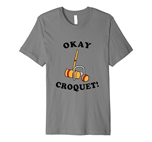 Okey (Spiel) Krocket T-Shirt–Funny Krocket Witz