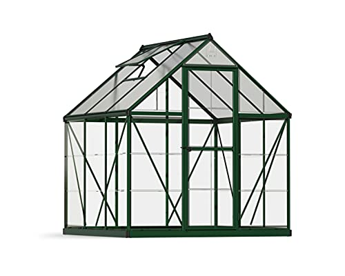 Palram HG5506G-1B Hybrid Hobby Greenhouse, Green