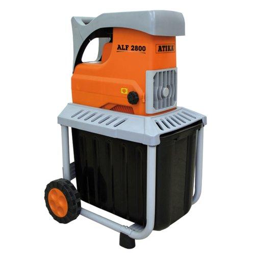 ATIKA ALF 2800 Walzenhäcksler Gartenhäcksler Elektrohäcksler Schredder | 230V | 2800W