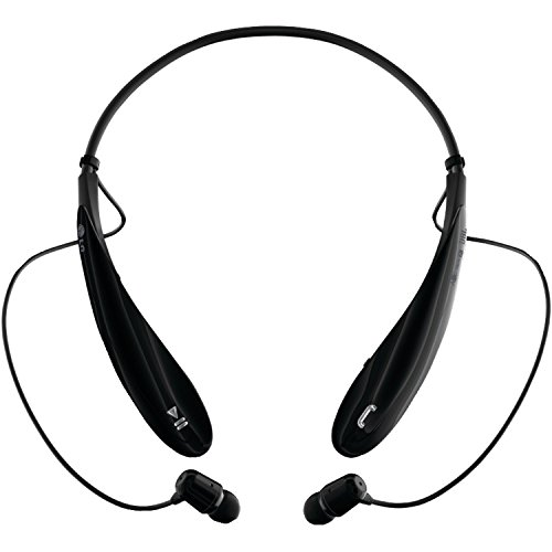 LG Electronics Tone Ultra (HBS-800) Bluetooth Stereo Headset - Black (Renewed)