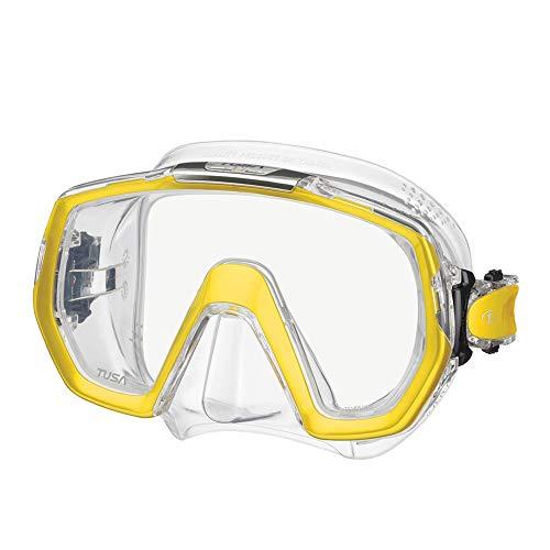 TUSA M-1003 Freedom Elite Scuba Diving Mask, Moon Gold