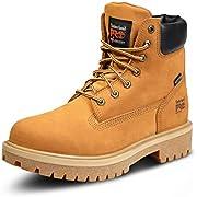 Timberland PRO Men's Direct Attach Six-Inch Soft-Toe Boot, Wheat Nubuck,9.5 M