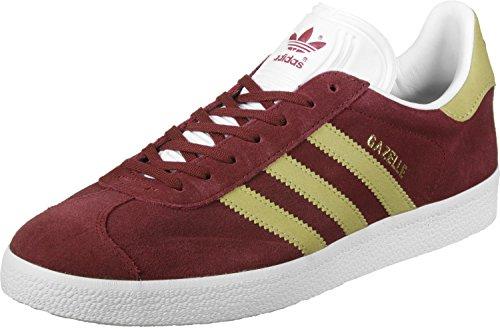 adidas Gazelle, Zapatillas de deporte para Hombre, Rojo (Buruni / Dormet / Ftwbla), 38 2/3 EU