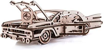 Time for Machine 2021 Fresno Mall new Mechanical 3D Wooden Con Puzzle Car Model Elvis