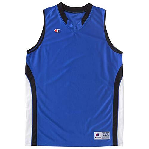 [チャンピオン] タンクトップ 速乾 ワンポイントロゴ ゲームシャツ バスケットボール GAME CBR2204 メンズ アメリカBL L