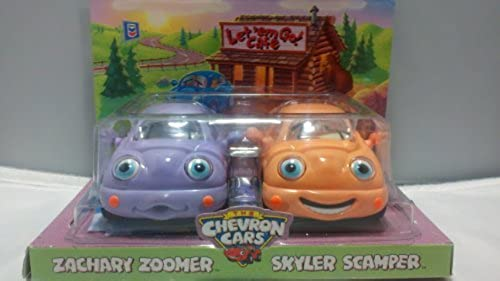 grandes precios de descuento The Chevron Cars Zachary Zoomer & Skyler Scamper by by by Chevron  barato y de alta calidad