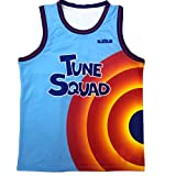ZMYS Men's Basketball Jerseys No.6 Toon Squad Jersey A New Legacy Movie Shirts Sports Outfit Gift for Fans (Jersey,Large)