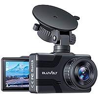 BluVolt 1080P FHD Built-in Battery Car Dash Cam