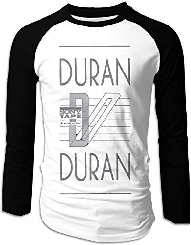DUran Duran Ragged Tiger Baseball Shirt, Adults Medium