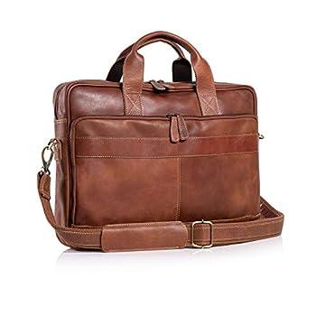 Best leather briefcase messenger bag Reviews