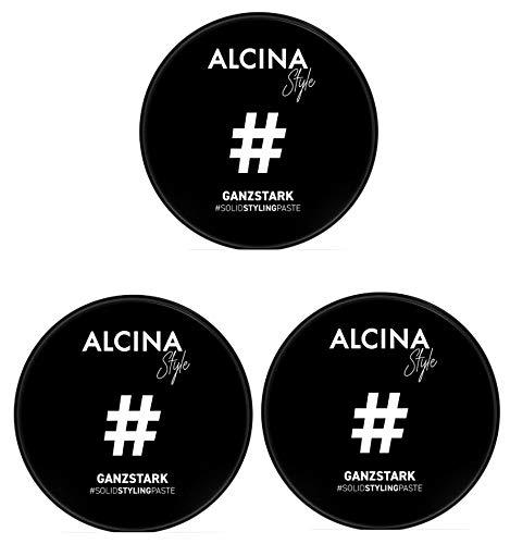 3er Solid Styling Paste Ganzstark #Style Alcina 50 ml