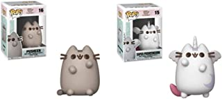 Funko Pop Animation: Pack of 2 - Pusheen and Super Pusheenicorn Collectible Figures