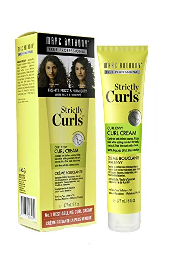 Marc Anthony Strictly Curls Envy Perfect Curl Cream, Yellow, 6 Ounce