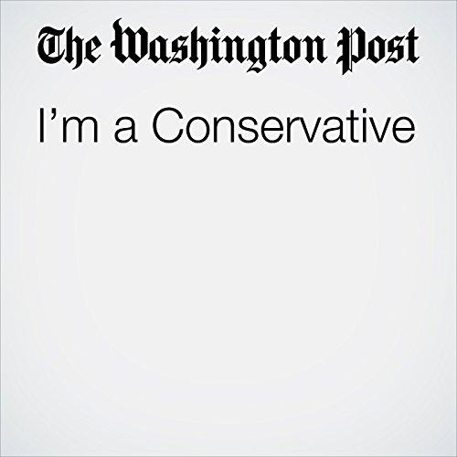 I'm a Conservative copertina