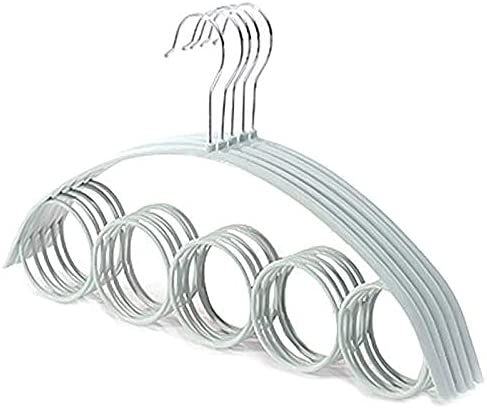 sysyrqcer trend rank Clothes Hangers 5 pcs Holes Mater PP Hanger Scarf Max 43% OFF