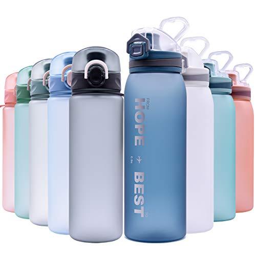 borraccia termica 900 ml KAILH Tritan Sportiva Bottiglia d'Acqua 500/600/700/900ml Borraccia a Prova di perdite