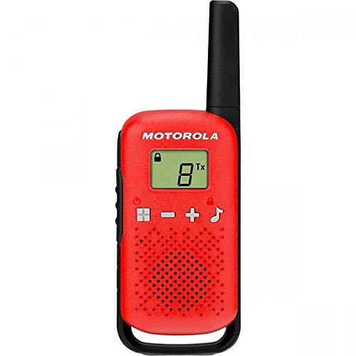 Rádio Comunicador Talkabout 25km T110BR Vermelho MOTOROLA