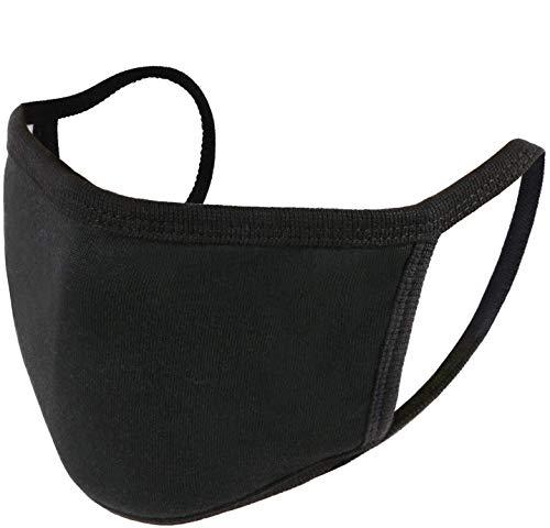 Fashion Protective, Unisex Black Dust Cotton, Washable, Reusable Cotton Fabric