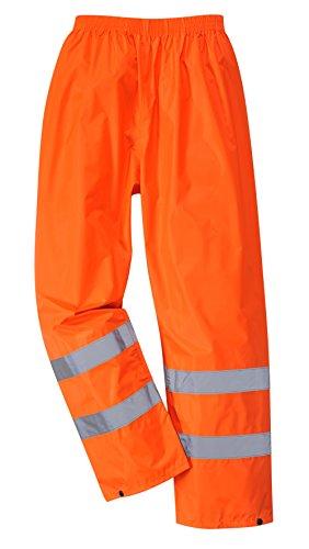 PORTWEST H441 - Regen Warnschutzhose, 1 Stück, XXXL, Orange, H441ORRXXXL