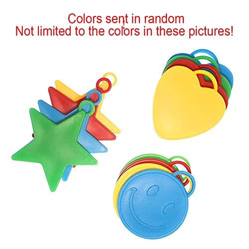 Utini 10pcs/Pack Balloon Hanging Accessory Birthday Star Balloon Load-Bearing Pendant Wedding Party Decorative Ornaments - (Ships from: China)