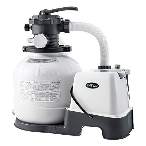 Intex – 230 V Sandfilterpumpe & Saltwater System CG-26676 (26676)