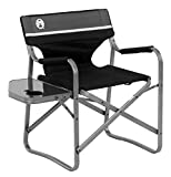 Coleman Camping Chair with Side Table | Aluminum Outdoor Chair with...