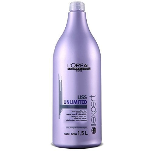 L'Oreal Professionnel Liss Unlimited Shampoo 1500Ml by L'Oreal Paris
