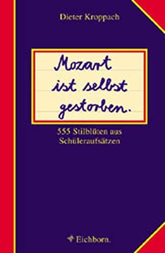Mozart ist selbst gestorben